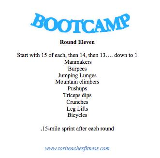 Bootcamp round 11