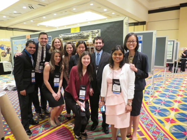 All 10 presenters from NYIT-COM!